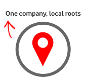 one company local roots