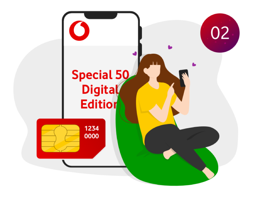 Passa a Vodafone: Special 50 2
